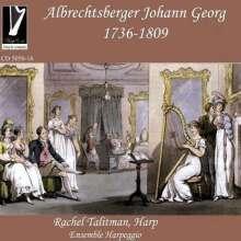 Johann Georg Albrechtsberger (1736-1809): Concertino Es-Dur für Flöte,Violine,Viola,Cello & Harfe, CD