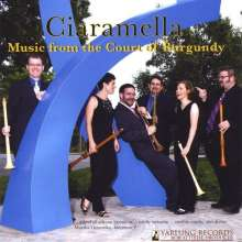 Music from the Court of Burgundy, CD
