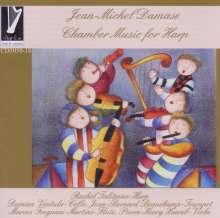 Jean-Michel Damase (1928-2013): Kammermusik für Harfe, CD
