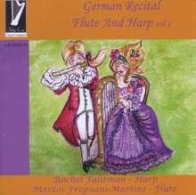 German Recital Flute And Harpe Vol.1, CD