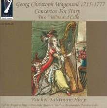 Georg Christoph Wagenseil (1715-1777): Konzerte für Harfe, 2 Violinen & Cello Nr.1-6, CD