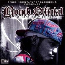 Bomb Official: 12-12's Of The Piff, CD