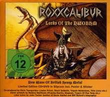 Roxxcalibur: Lords Of The NWOBHM, 1 CD und 1 DVD