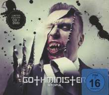 Gothminister: Utopia (Limited Edition CD + DVD)), 1 CD und 1 DVD