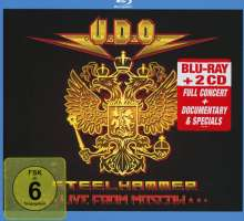 U.D.O.: Steelhammer: Live In Moscow (Blu-ray + 2CD Digipack), Blu-ray Disc