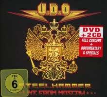 U.D.O.: Steelhammer: Live In Moscow (DVD + 2CD Digipack), 1 DVD und 2 CDs