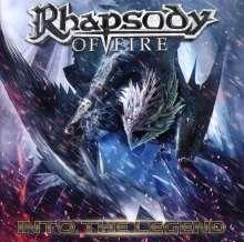 Rhapsody Of Fire  (ex-Rhapsody): Into The Legend, CD
