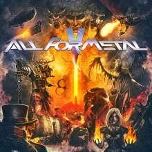 All For Metal V, 1 CD und 1 DVD