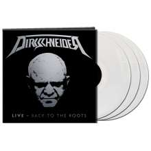 Udo Dirkschneider: Live - Back To The Roots (Limited Edition) (Clear Vinyl), 3 LPs