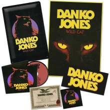 Danko Jones: Wild Cat (Limited-Edition-Box-Set), 1 CD und 1 Merchandise
