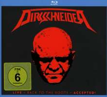 Udo Dirkschneider: Live - Back To The Roots - Accepted!, 2 CDs und 1 Blu-ray Disc