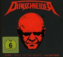 Udo Dirkschneider: Live - Back To The Roots - Accepted!, 2 CDs