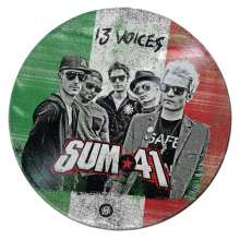 Sum 41: 13 Voices (Limited-Edition) (Picture-Disc) (Italy), LP