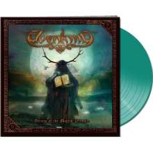 Elvenking: The Secrets Of The Magick Grimoire (Limited-Edition) (Clear Green Vinyl), 2 LPs