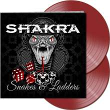 Shakra: Snakes & Ladders (Limited-Edition) (Red Vinyl) (45 RPM), 2 LPs