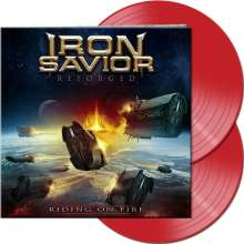 Iron Savior: Reforged: Riding On Fire (Limited-Edition) (Red Vinyl), 2 LPs