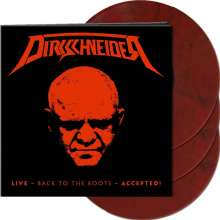 Udo Dirkschneider: Live - Back To The Roots - Accepted! (Limited-Edition) (Red Black Marbled Vinyl), 3 LPs