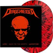 Udo Dirkschneider: Live - Back To The Roots - Accepted! (Limited-Edition) (Red W/ Black Splatter Vinyl), 3 LPs
