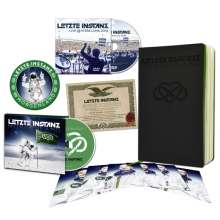 Letzte Instanz: Morgenland (Limited-Boxset), 1 CD, 1 DVD, 1 Buch und 1 Merchandise