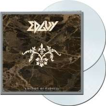 Edguy: Kingdom Of Madness (remastered) (Limited-Anniversary-Edition) (Clear Vinyl), 2 LPs