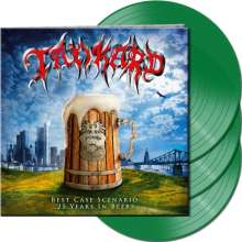 Tankard: Best Case Scenario - 25 Years In Beers (Green Vinyl), 3 LPs