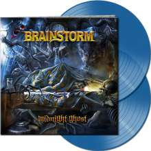 Brainstorm (Metal): Midnight Ghost (Limited-Edition) (Clear Blue Vinyl), LP