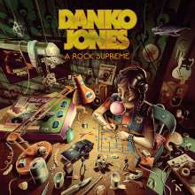 Danko Jones: A Rock Supreme (Neon Orange Vinyl), LP