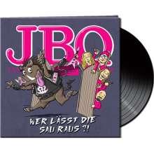 J.B.O.     (James Blast Orchester): Wer Lässt Die Sau Raus?! (Limited-Edition), LP