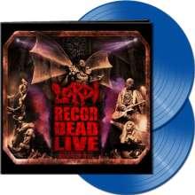 Lordi: Recordead Live: Sextourcism In Z7 (Blue Vinyl), 2 LPs