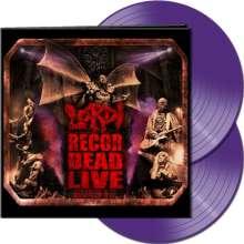 Lordi: Recordead Live: Sextourcism In Z7 (Limited-Edition) (Purple Vinyl), 2 LPs