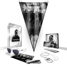 BRDigung: Zeig Dich! (Limited Boxset), 1 CD und 3 Merchandise