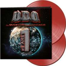 U.D.O.: We Are One (Limited Edition) (Clear Red Vinyl), 2 LPs