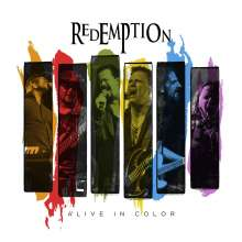 Redemption: Alive In Color, 2 CDs und 1 Blu-ray Disc