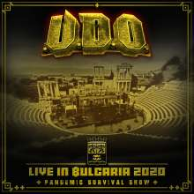 U.D.O.: Live in Bulgaria 2020 - Pandemic Survival Show, 2 CDs und 1 Blu-ray Disc