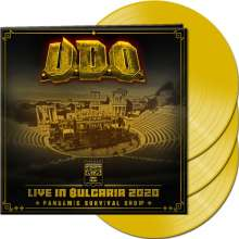U.D.O.: Live in Bulgaria 2020 - Pandemic Survival Show (Limited Edition) (Clear Yellow Vinyl), 3 LPs
