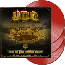 U.D.O.: Live In Bulgaria 2020: Pandemic Survival Show (Limited Edition) (Red Vinyl), 3 LPs