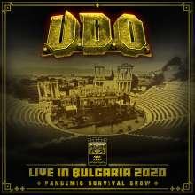 U.D.O.: Live in Bulgaria 2020 - Pandemic Survival Show, 2 CDs und 1 DVD
