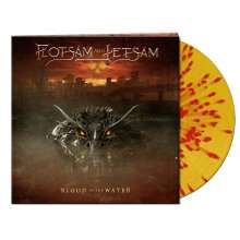 Flotsam And Jetsam: Blood In The Water (Clear Yellow / Red Splatter Vinyl), LP