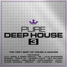 Pure Deep House 3, 3 CDs