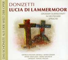 Gaetano Donizetti (1797-1848): Lucia di Lammermoor (Querschnitt in deutscher Sprache), CD
