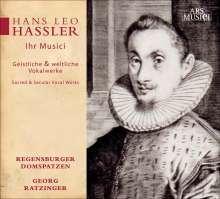 Hans Leo Hassler (1564-1612): Geistliche & weltliche Vokalwerke, CD