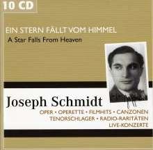 Joseph Schmidt - Ein Stern fällt vom Himmel, 10 CDs