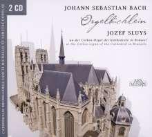 """Johann Sebastian Bach (1685-1750): Choräle BWV 599-644 """"Orgelbüchlein"""", 2 CDs"""
