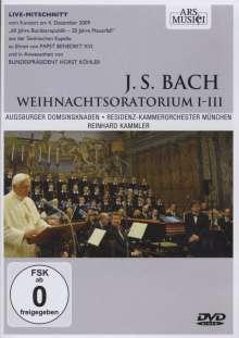 Johann Sebastian Bach (1685-1750): Weihnachtsoratorium BWV 248 (Kantaten 1-3), DVD