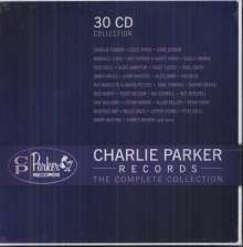 Charlie Parker Records: The Complete Collection (Box-Set), 30 CDs