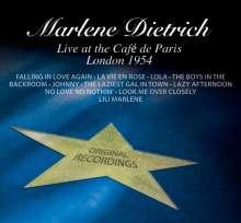 Marlene Dietrich: Live At The Cafe De Paris - London 1954, CD