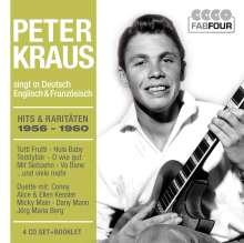 Peter Kraus: Hits & Raritäten 1956-1960, 4 CDs