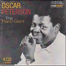 Oscar Peterson (1925-2007): The Piano-Giant (Wallet-Box), 4 CDs