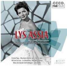 Lys Assia: Hits und Raritäten (Wallet-Box), 4 CDs