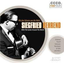 Siegfried Behrend - Mit der Gitarre um die Welt, 4 CDs